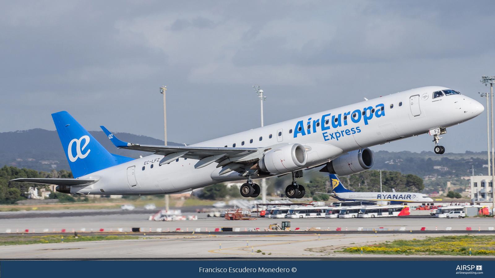 Air Europa Express  Embraer ERJ-195  EC-LFZ
