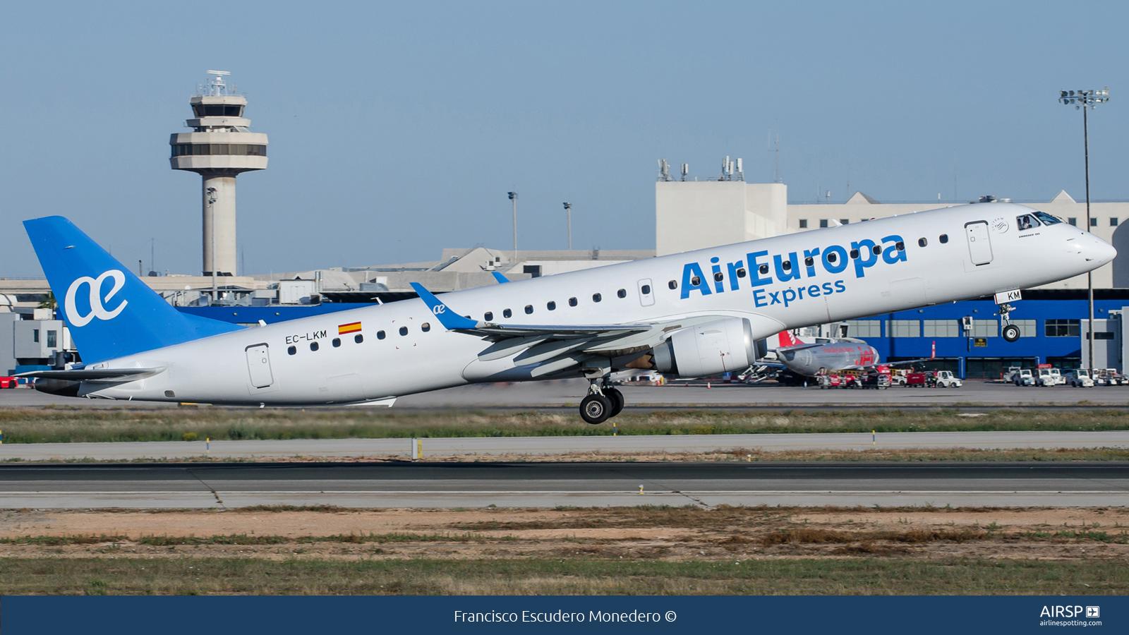 Air Europa Express  Embraer E195  EC-LKM