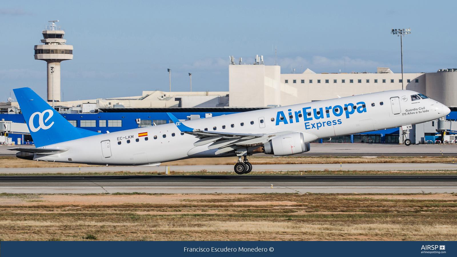 Air Europa Express  Embraer ERJ-195  EC-LKM