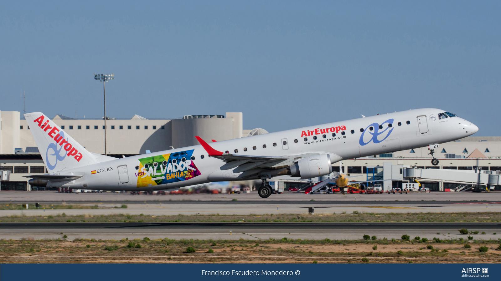 Air Europa  Embraer ERJ-195  EC-LKX