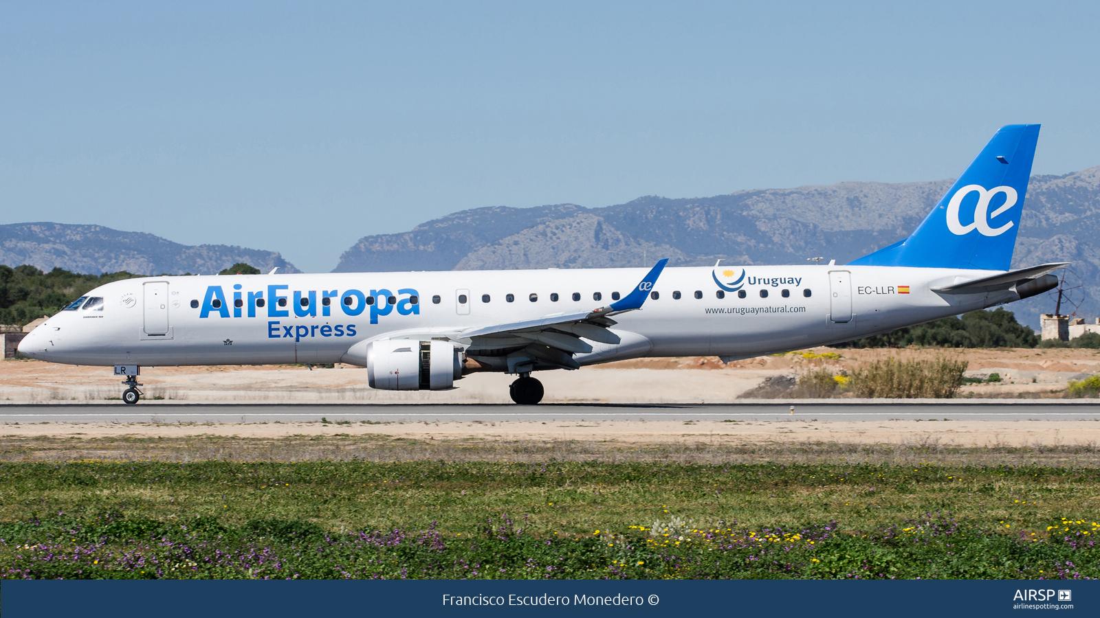 Air Europa Express  Embraer ERJ-195  EC-LLR