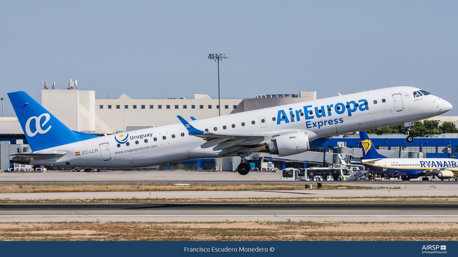 Air Europa  Embraer E195  EC-LLR