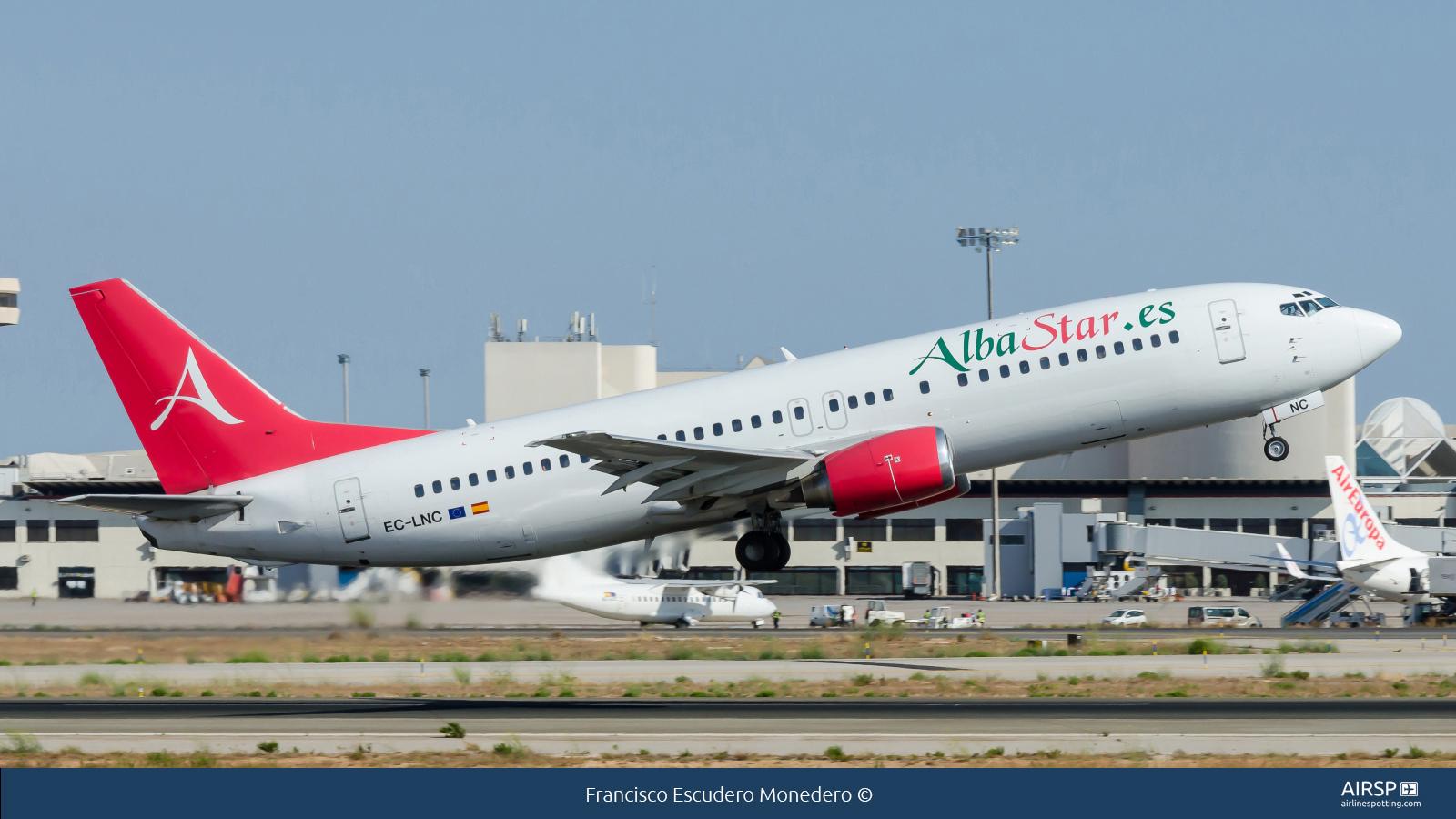 Alba Star  Boeing 737-400  EC-LNC