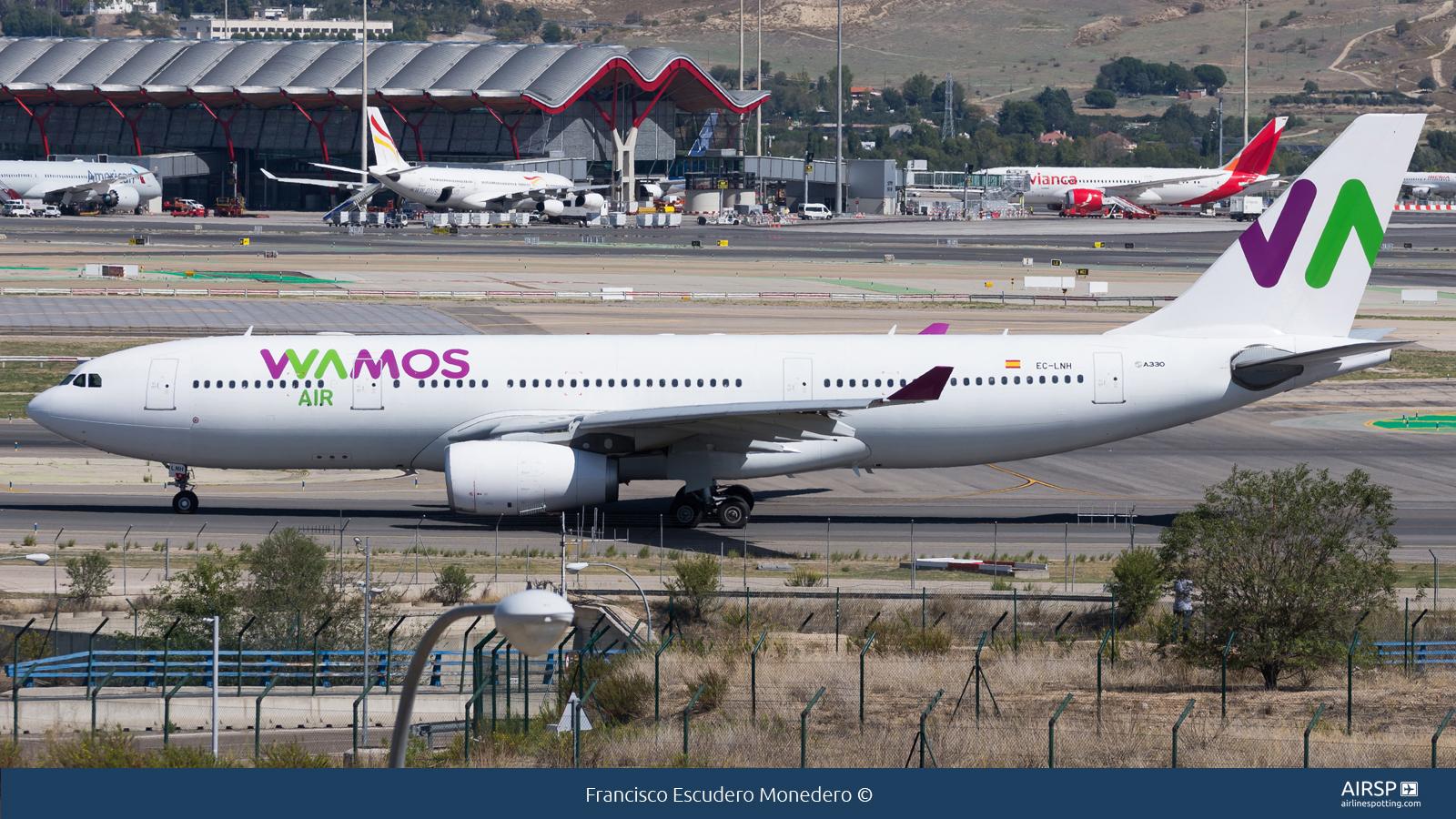 Wamos Air  Airbus A330-200  EC-LNH