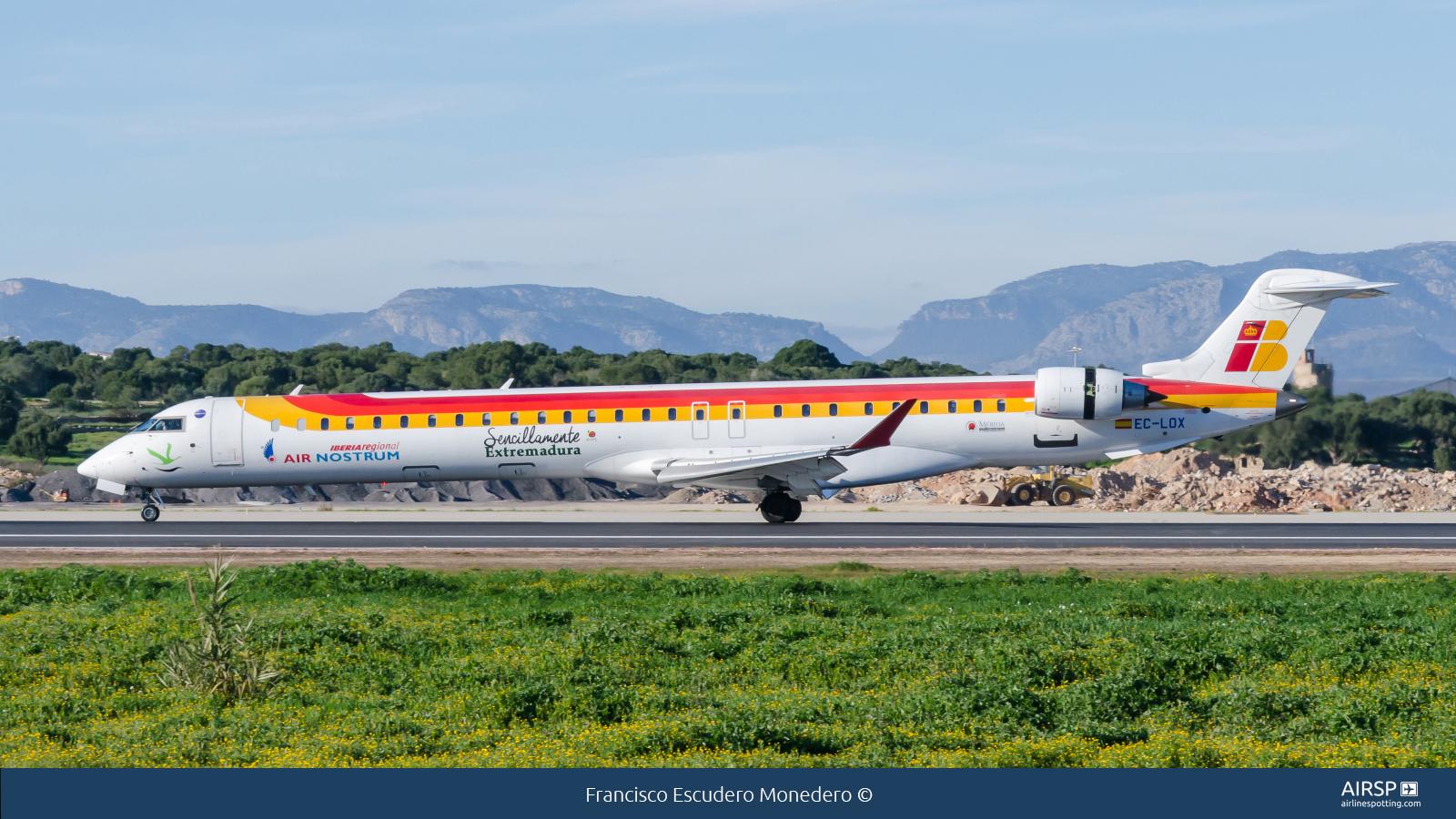 Air Nostrum Iberia RegionalBombardier CRJ-1000EC-LOX