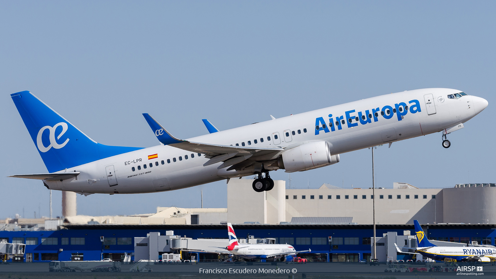 Air Europa  Boeing 737-800  EC-LPR