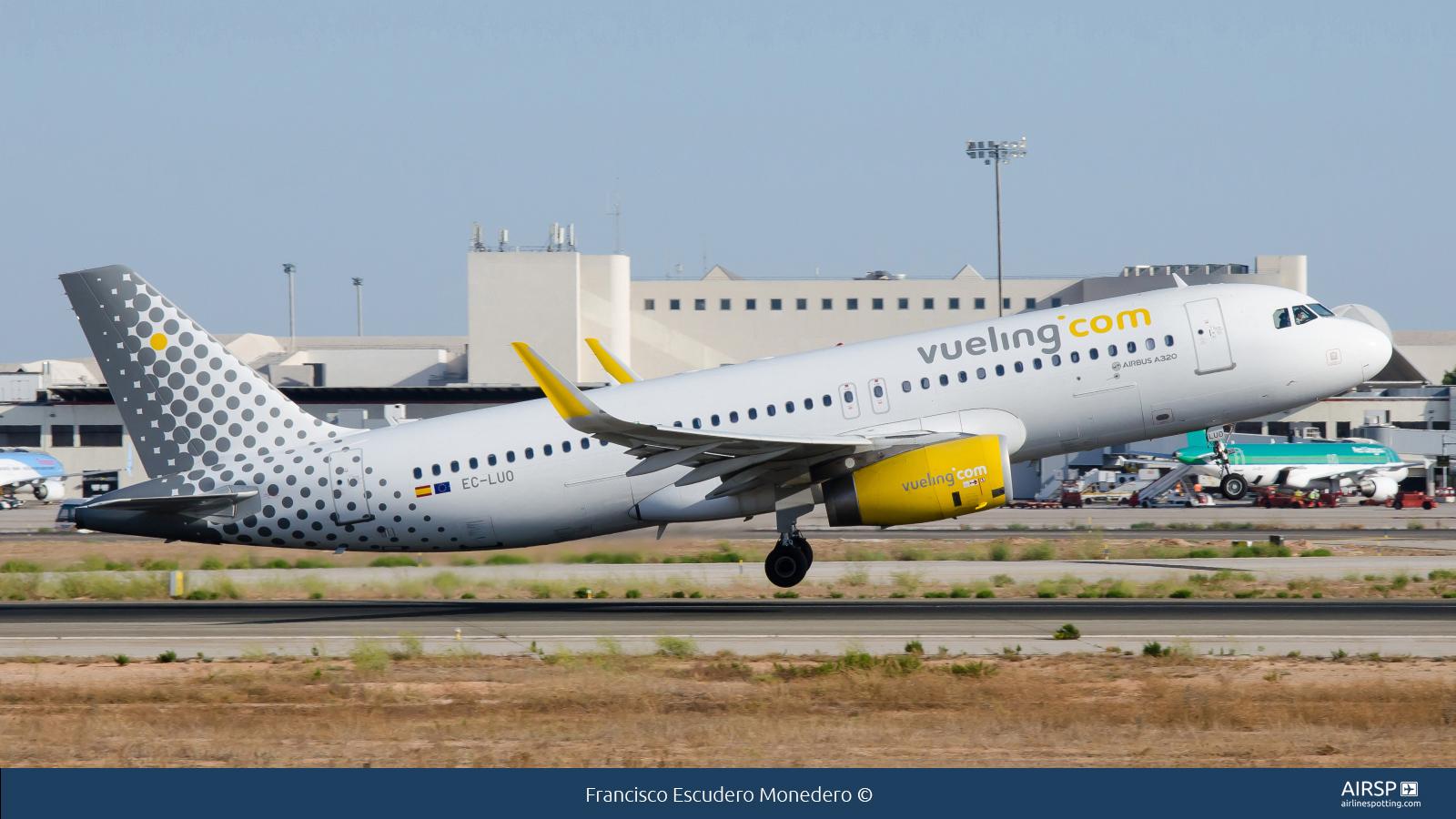 VuelingAirbus A320EC-LUO