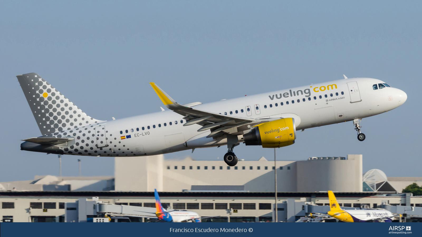VuelingAirbus A320EC-LVO