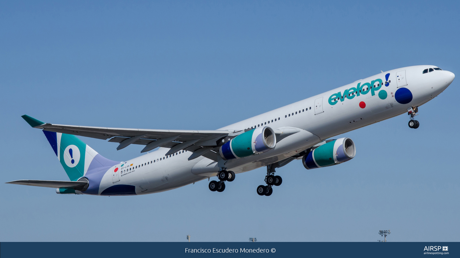 Evelop Airlines  Airbus A330-300  EC-LXA