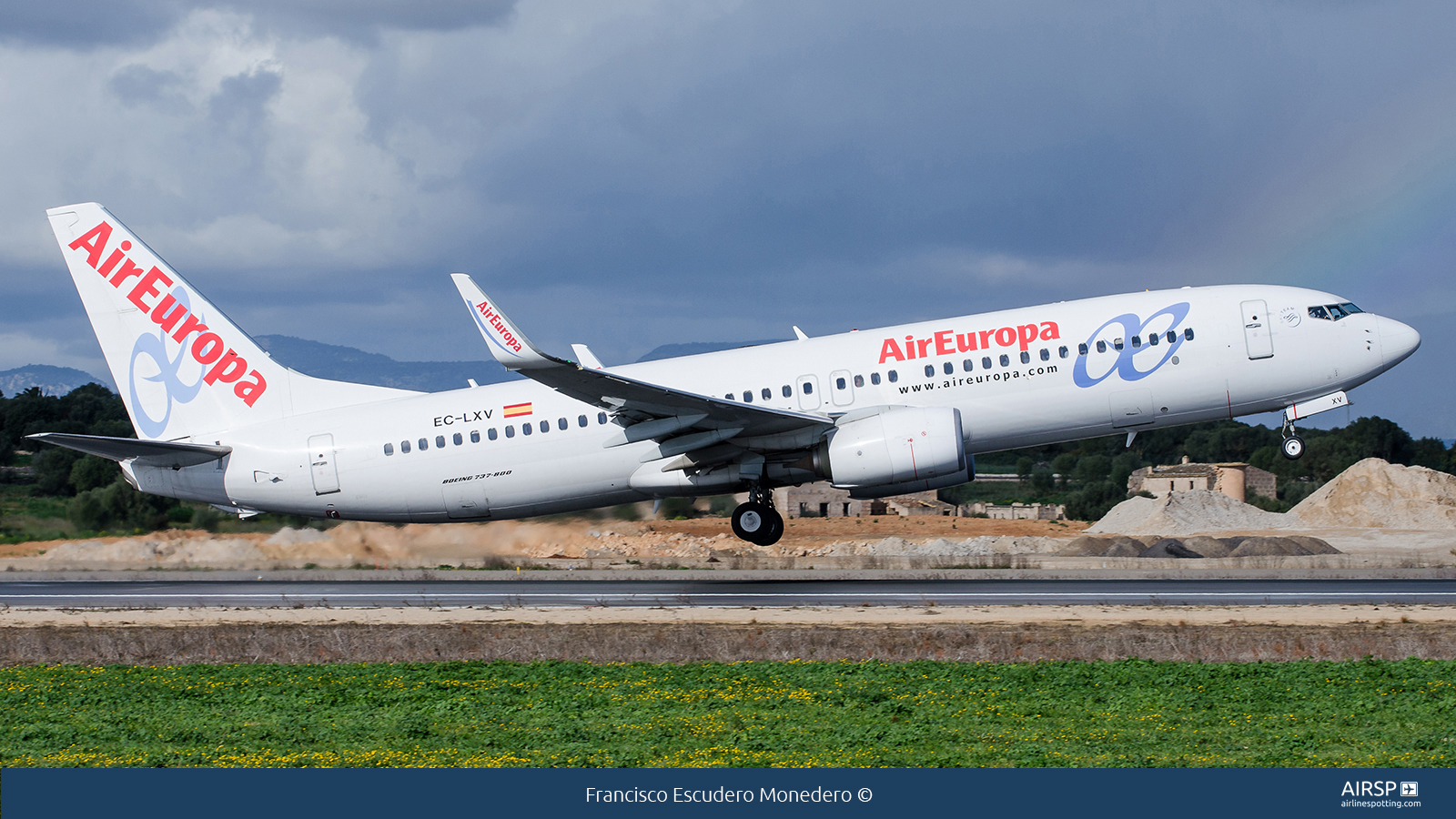 Air EuropaBoeing 737-800EC-LXV