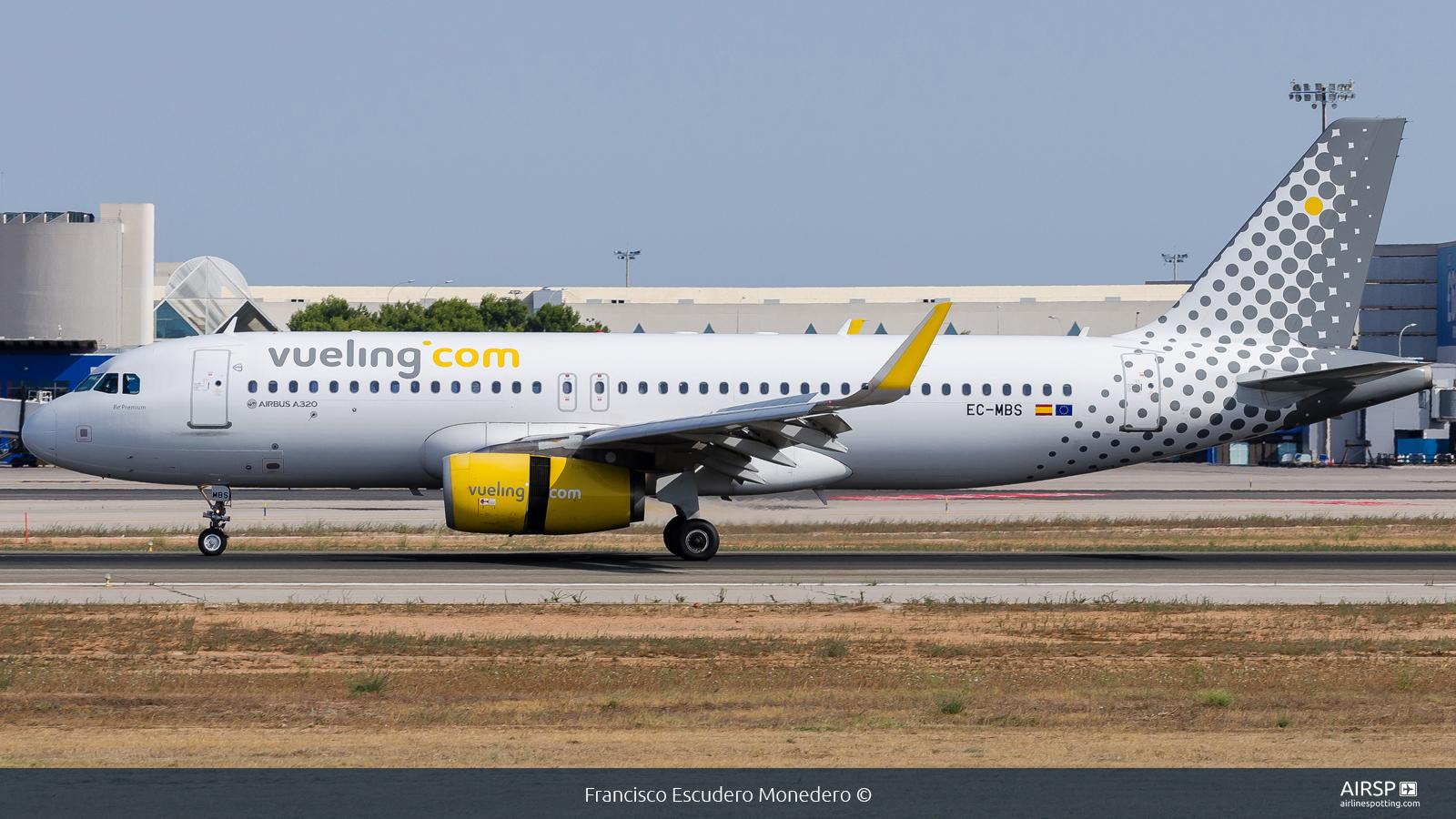 Vueling  Airbus A320  EC-MBS