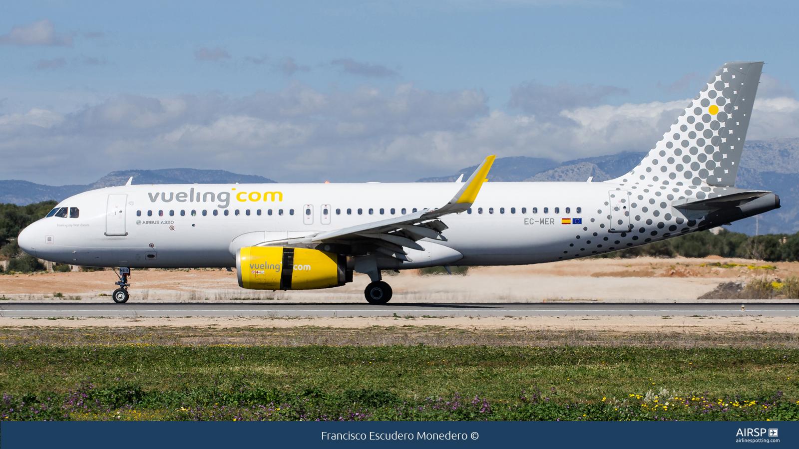Vueling  Airbus A320  EC-MER