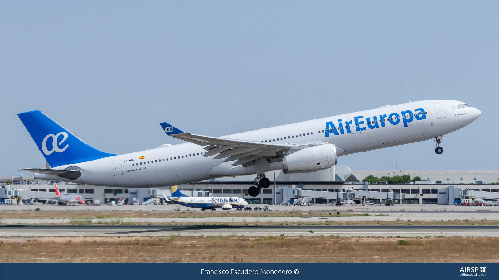 Resultado de imagen para Air Europa CON Airbus A330