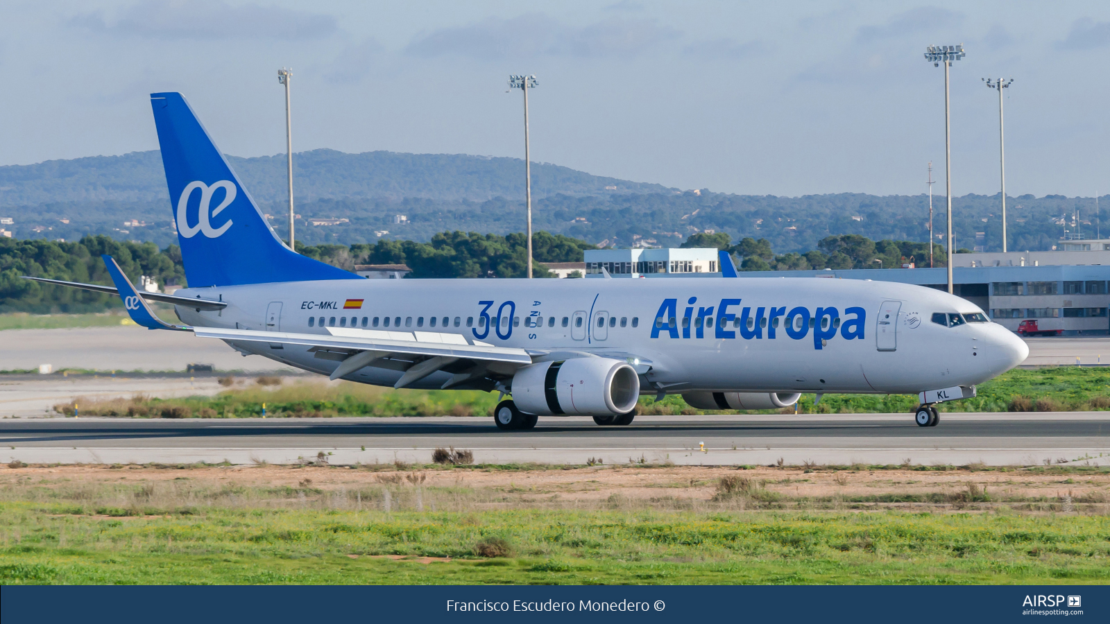 Air EuropaBoeing 737-800EC-MKL