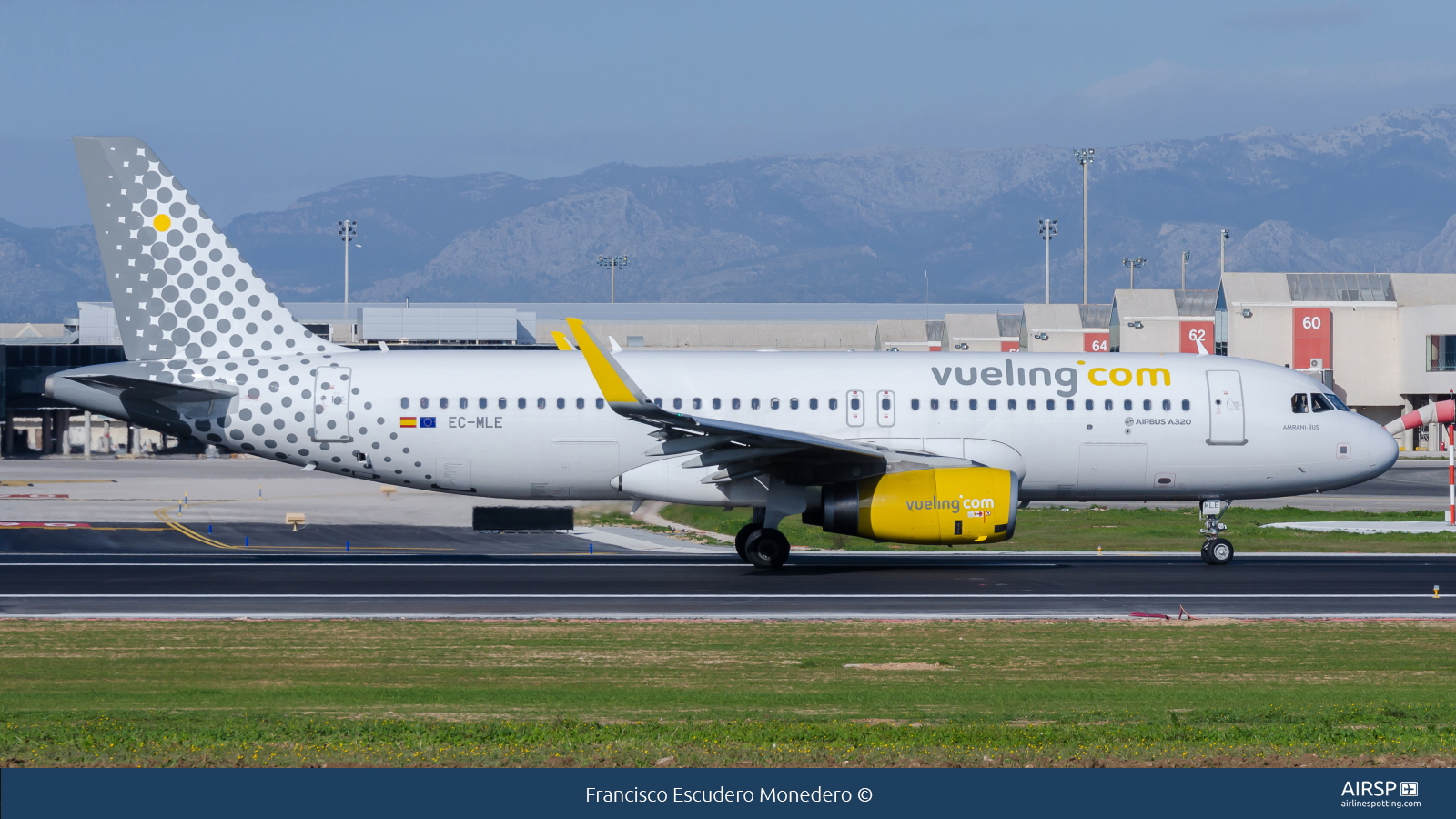 VuelingAirbus A320EC-MLE