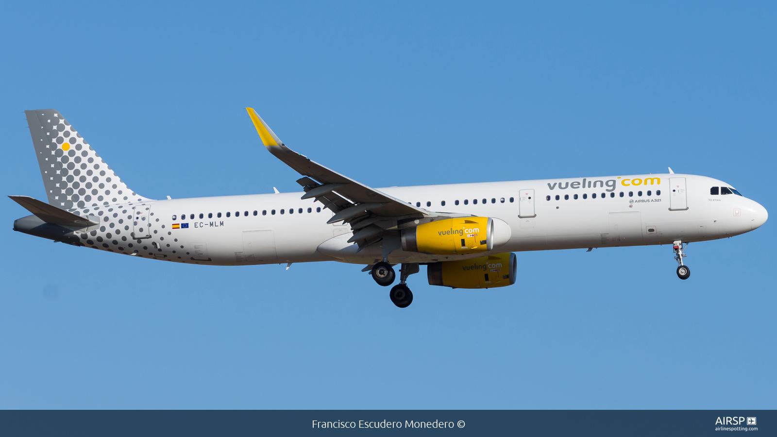 Vueling  Airbus A321  EC-MLM