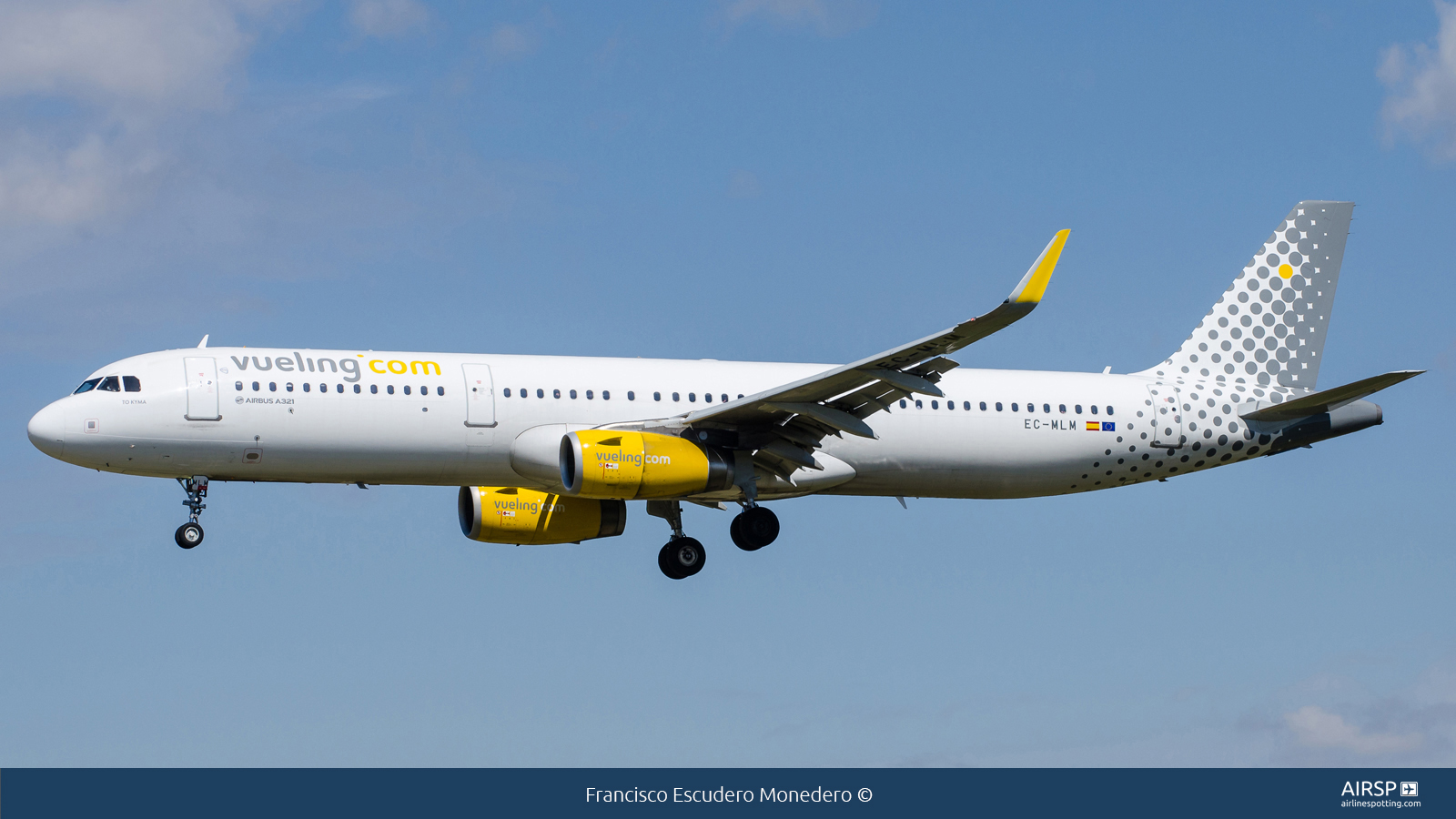 Vueling  Airbus A321  EC-MLM