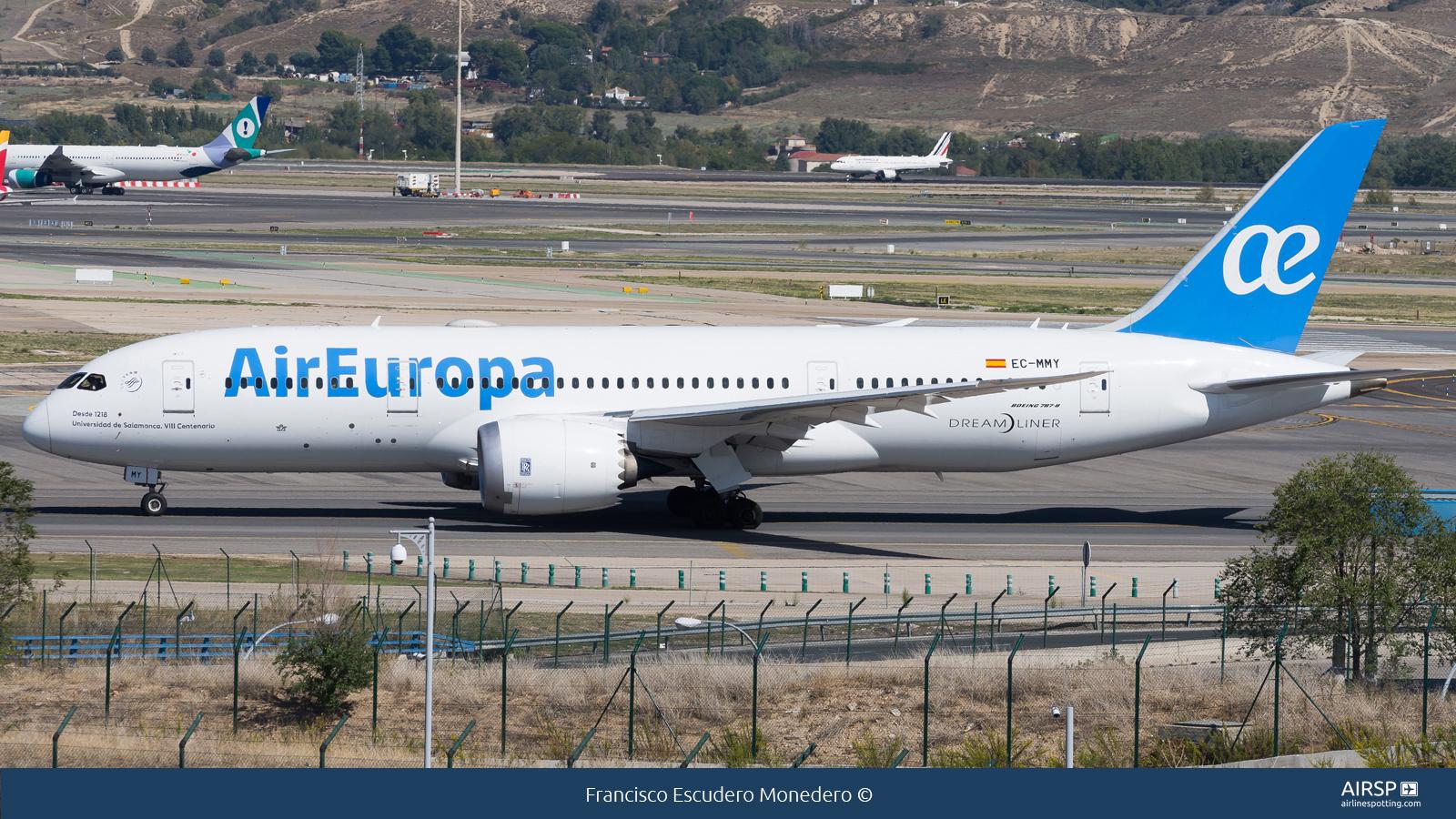 Air Europa  Boeing 787-8  EC-MMY
