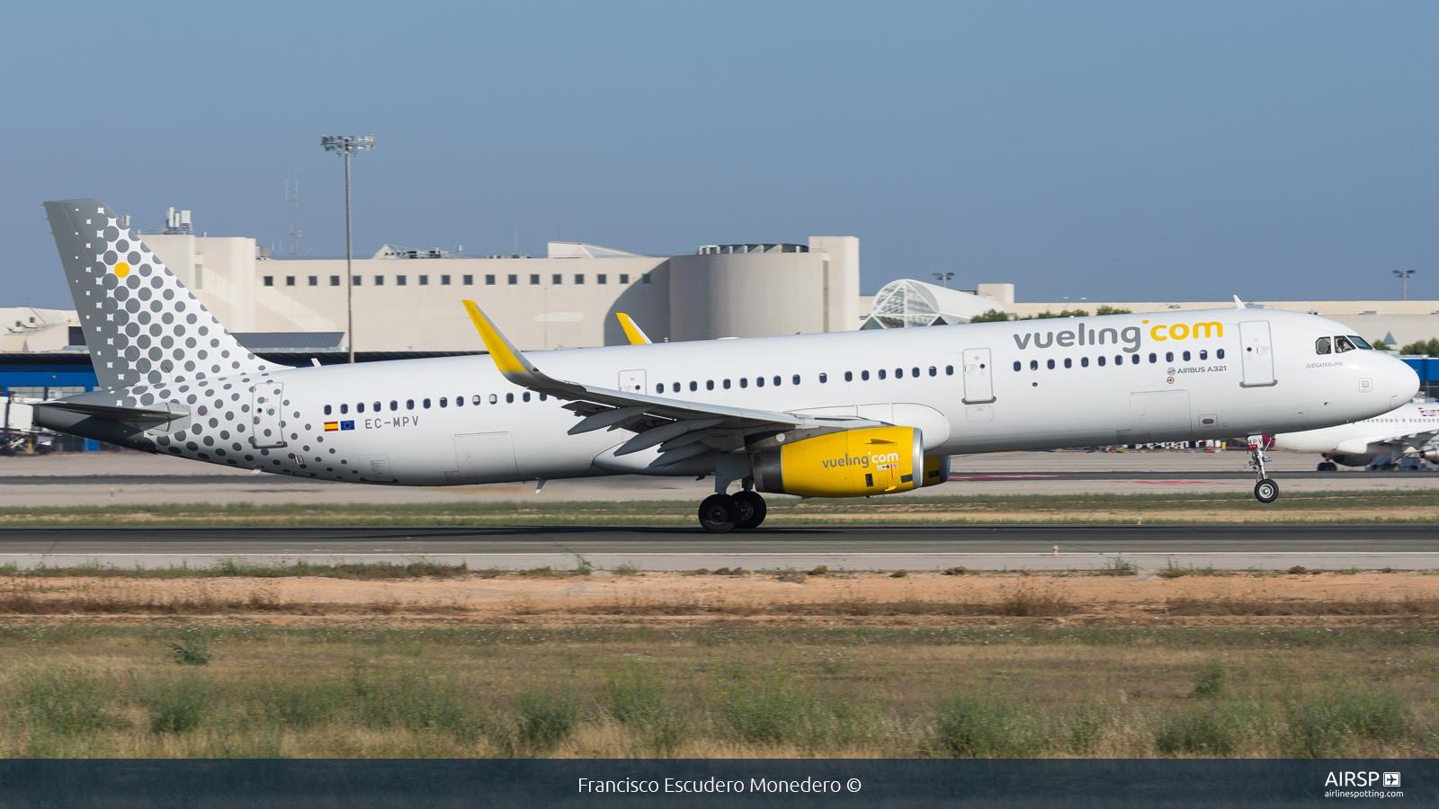 Vueling  Airbus A321  EC-MPV