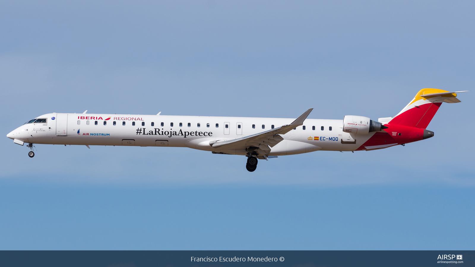 Air Nostrum Iberia Regional  Mitsubishi CRJ-1000  EC-MQQ