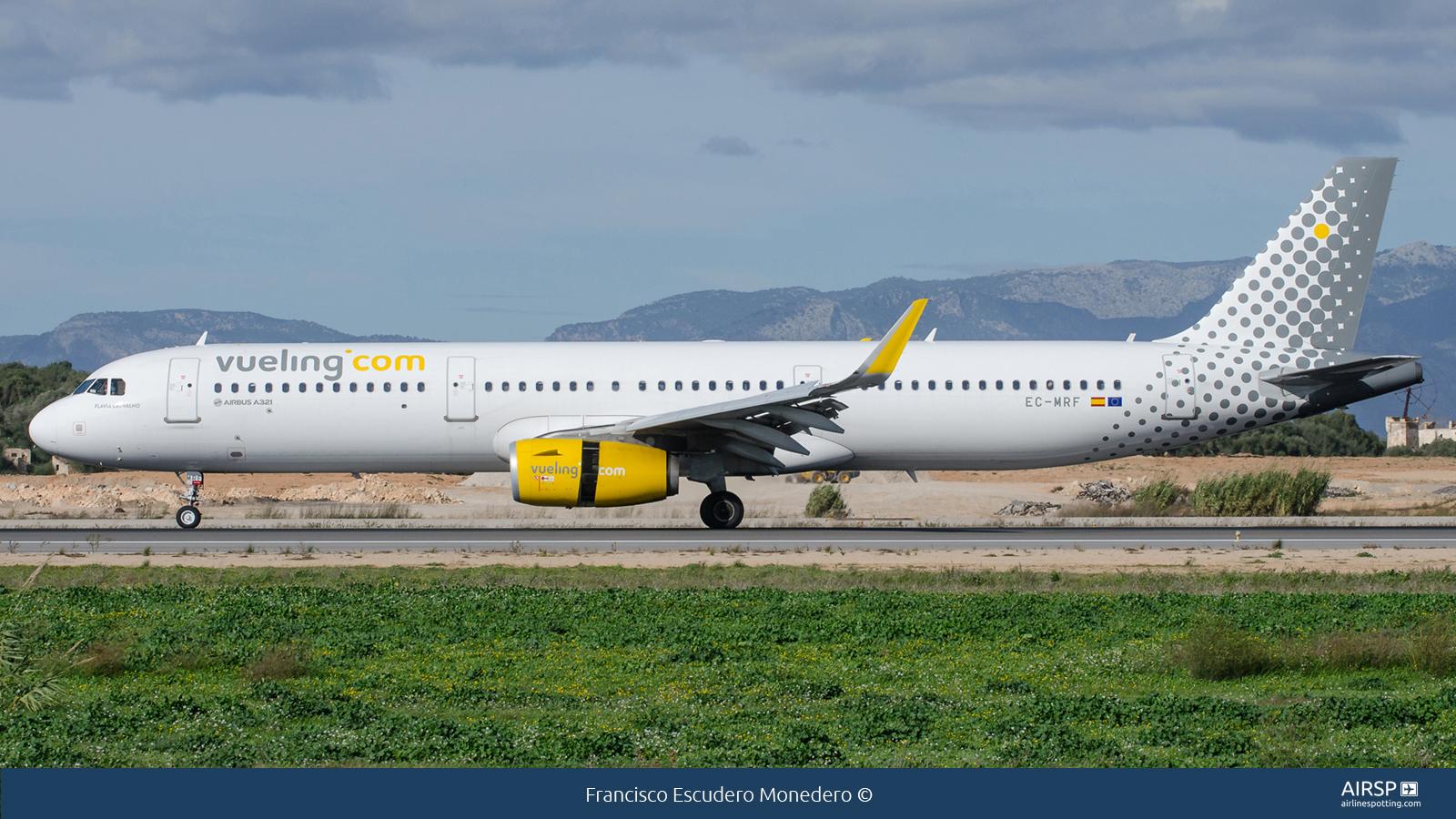 VuelingAirbus A321EC-MRF