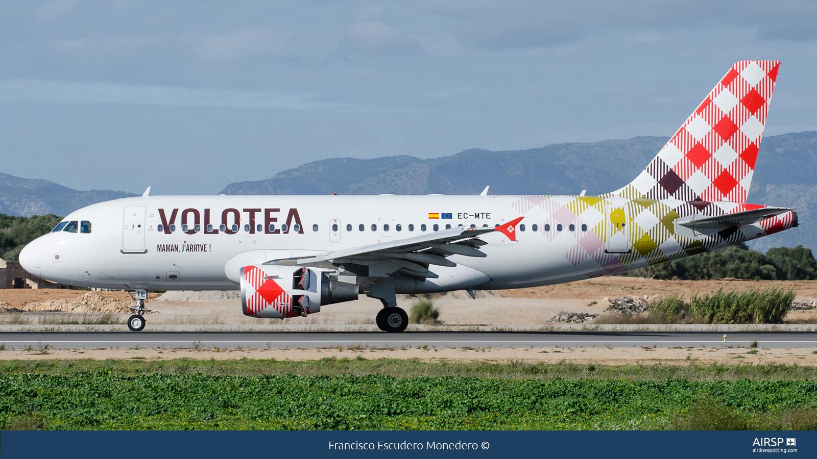 Volotea AirlinesAirbus A319EC-MTE