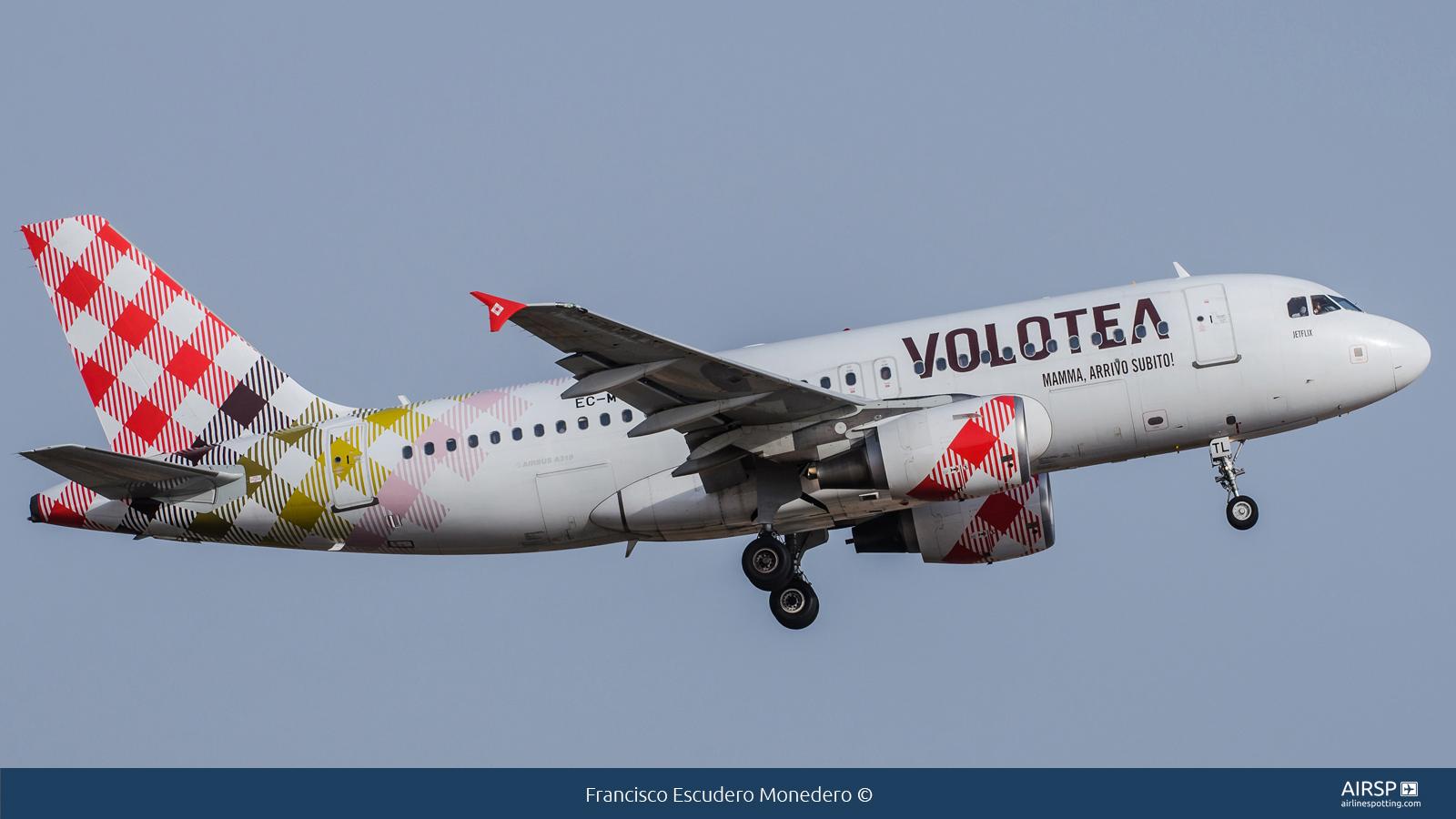 Volotea Airlines  Airbus A319  EC-MTL