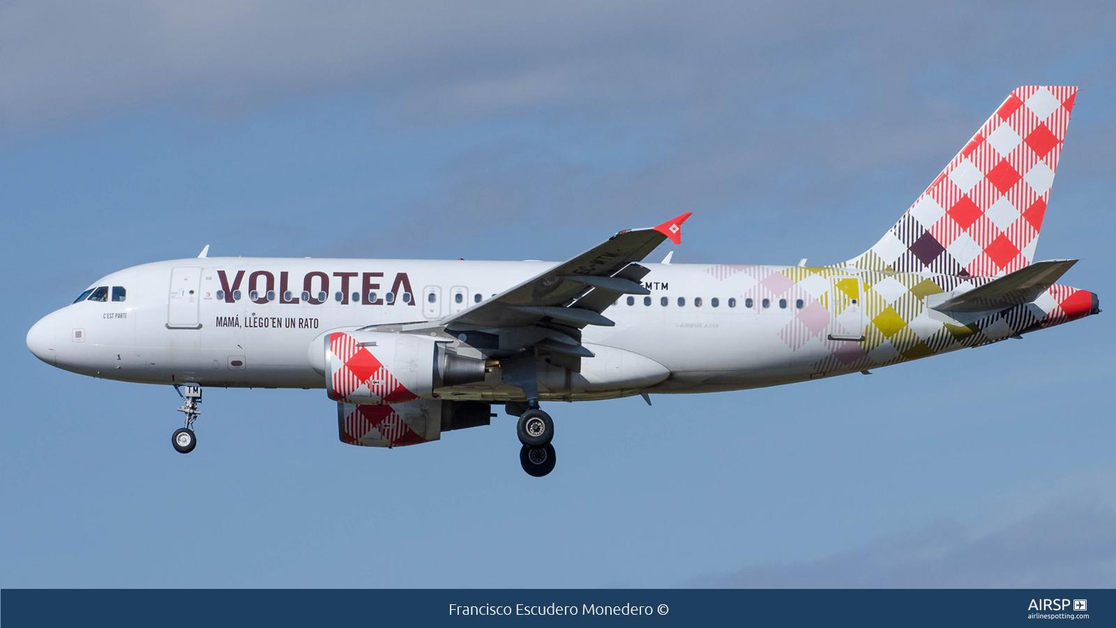 Volotea AirlinesAirbus A319EC-MTM