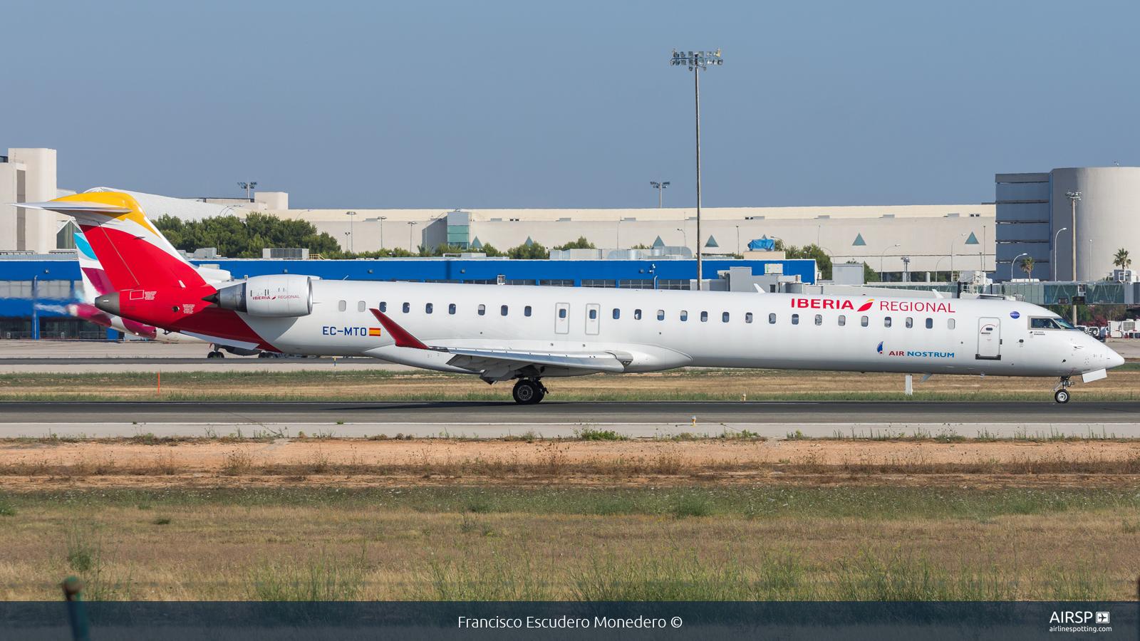 Air Nostrum Iberia Regional  Mitsubishi CRJ-1000  EC-MTO