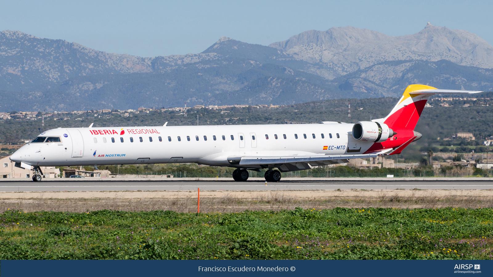 Air Nostrum Iberia RegionalBombardier CRJ-1000EC-MTO