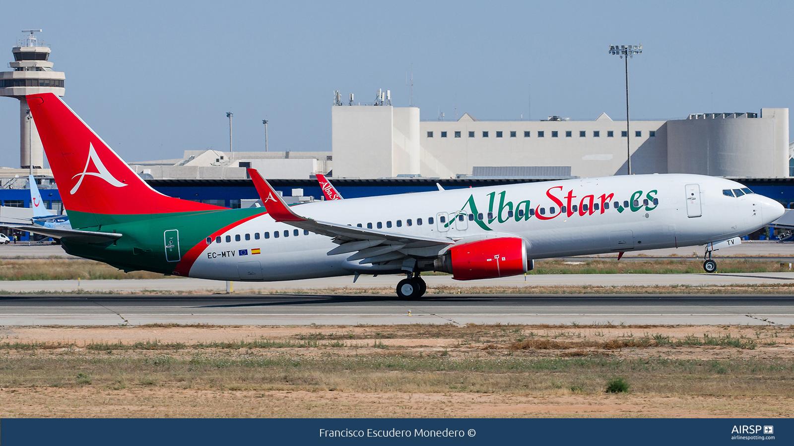 Alba StarBoeing 737-800EC-MTV