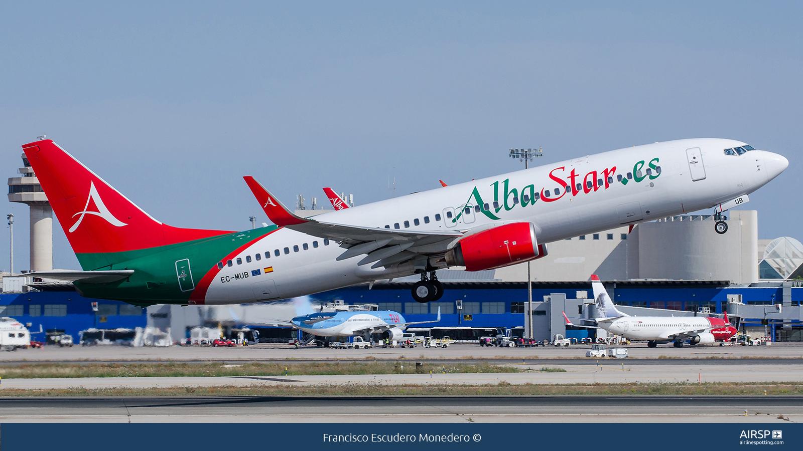 Alba Star  Boeing 737-800  EC-MUB