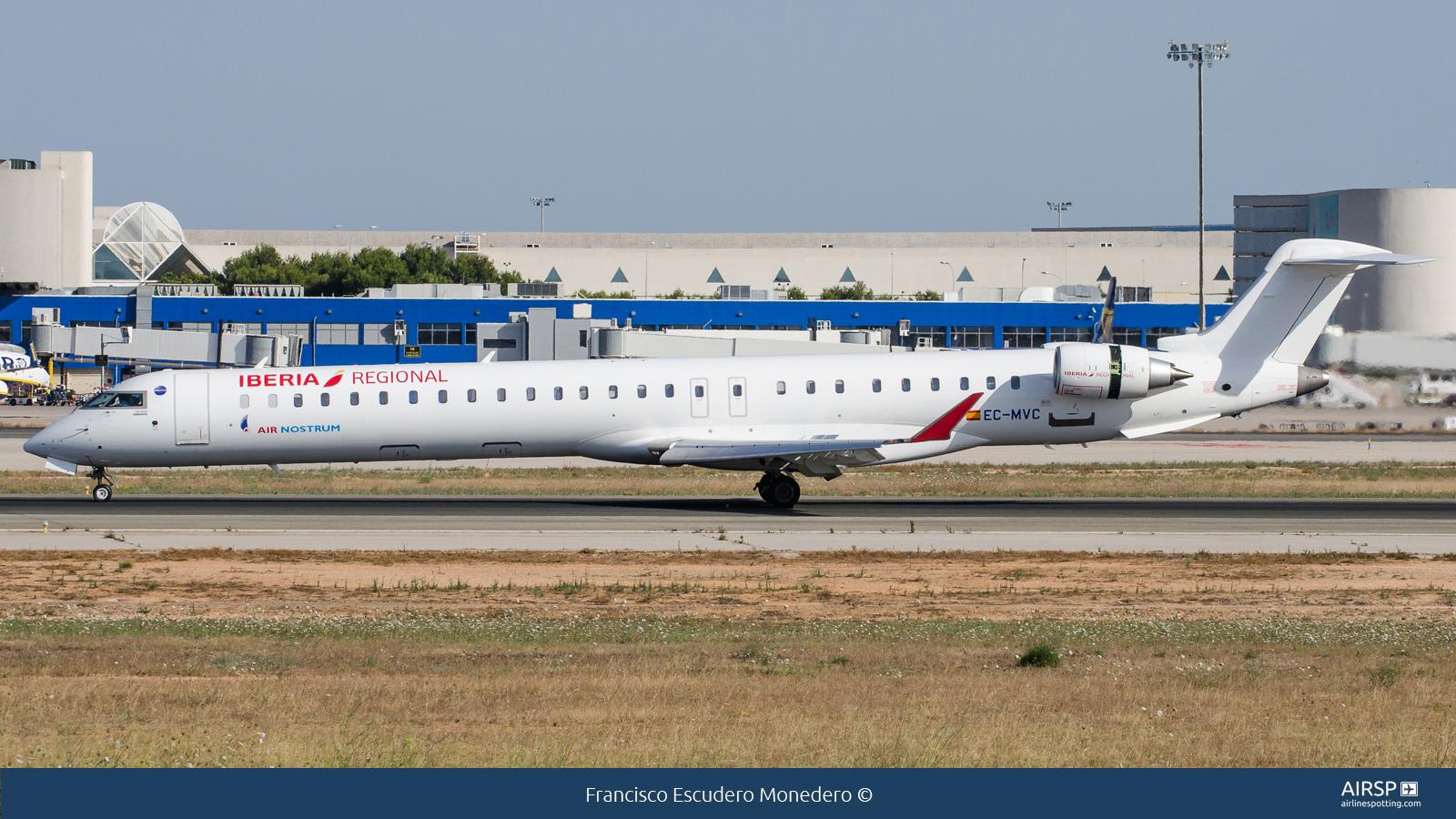 Air Nostrum Iberia RegionalBombardier CRJ-1000EC-MVC