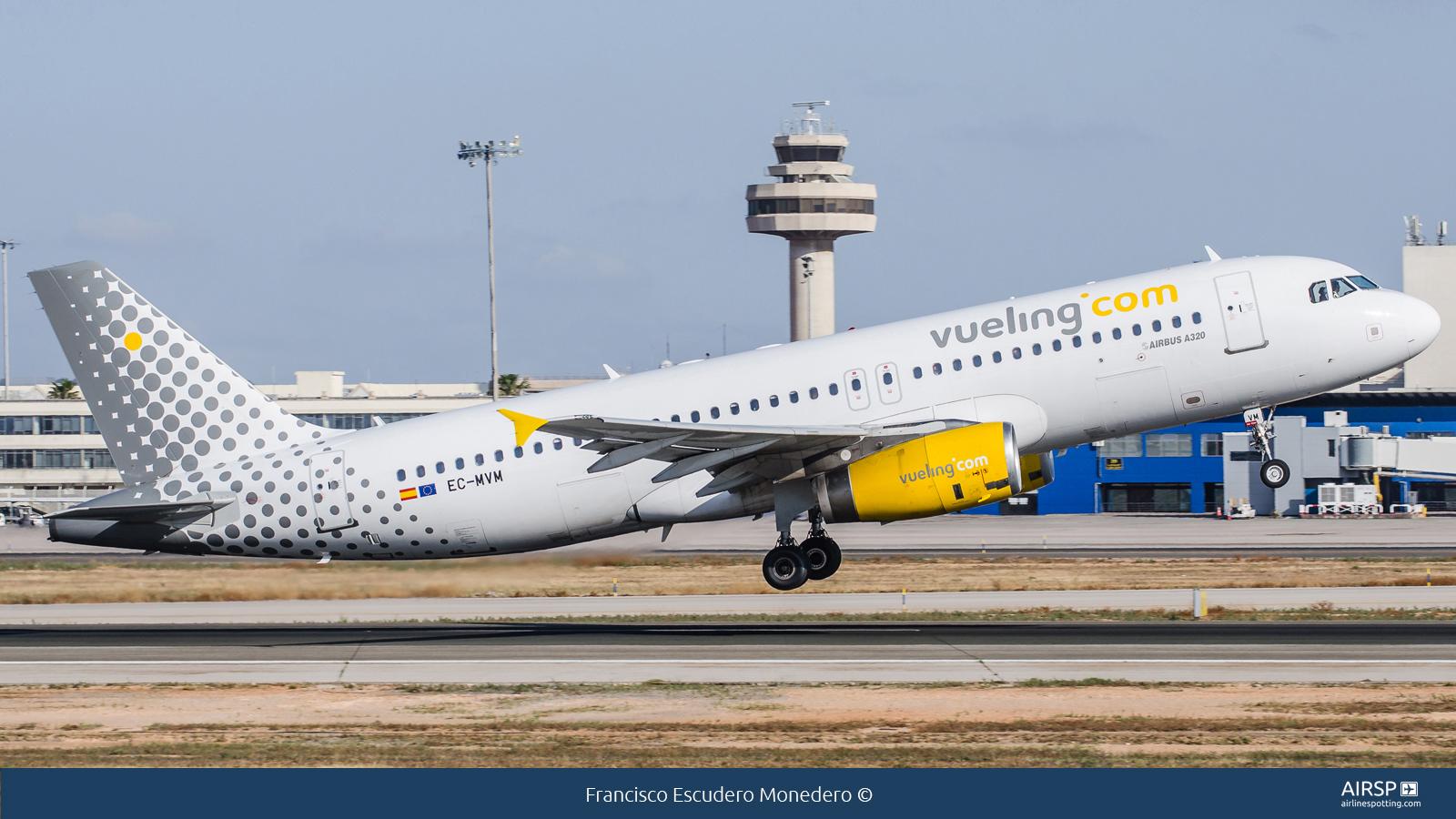 Vueling  Airbus A320  EC-MVM