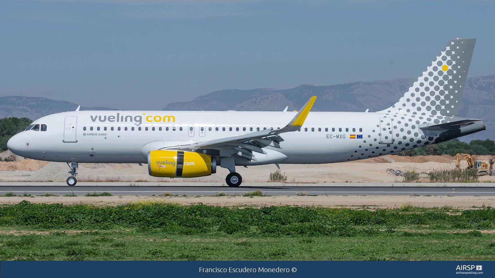Vueling  Airbus A320  EC-MXG