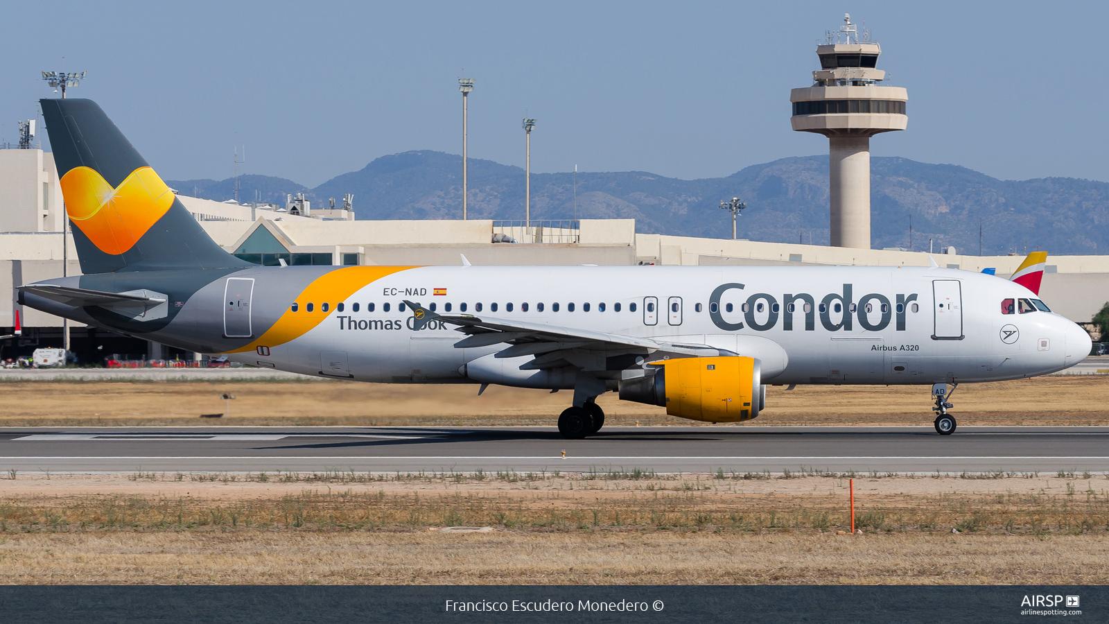 Condor  Airbus A320  EC-NAD