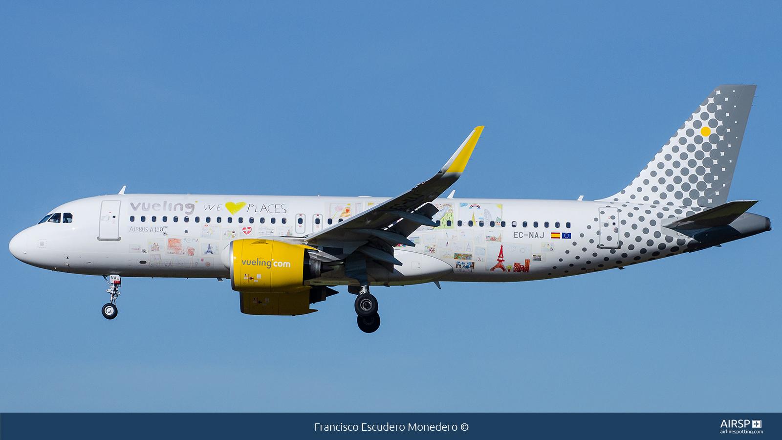 Vueling  Airbus A320neo  EC-NAJ