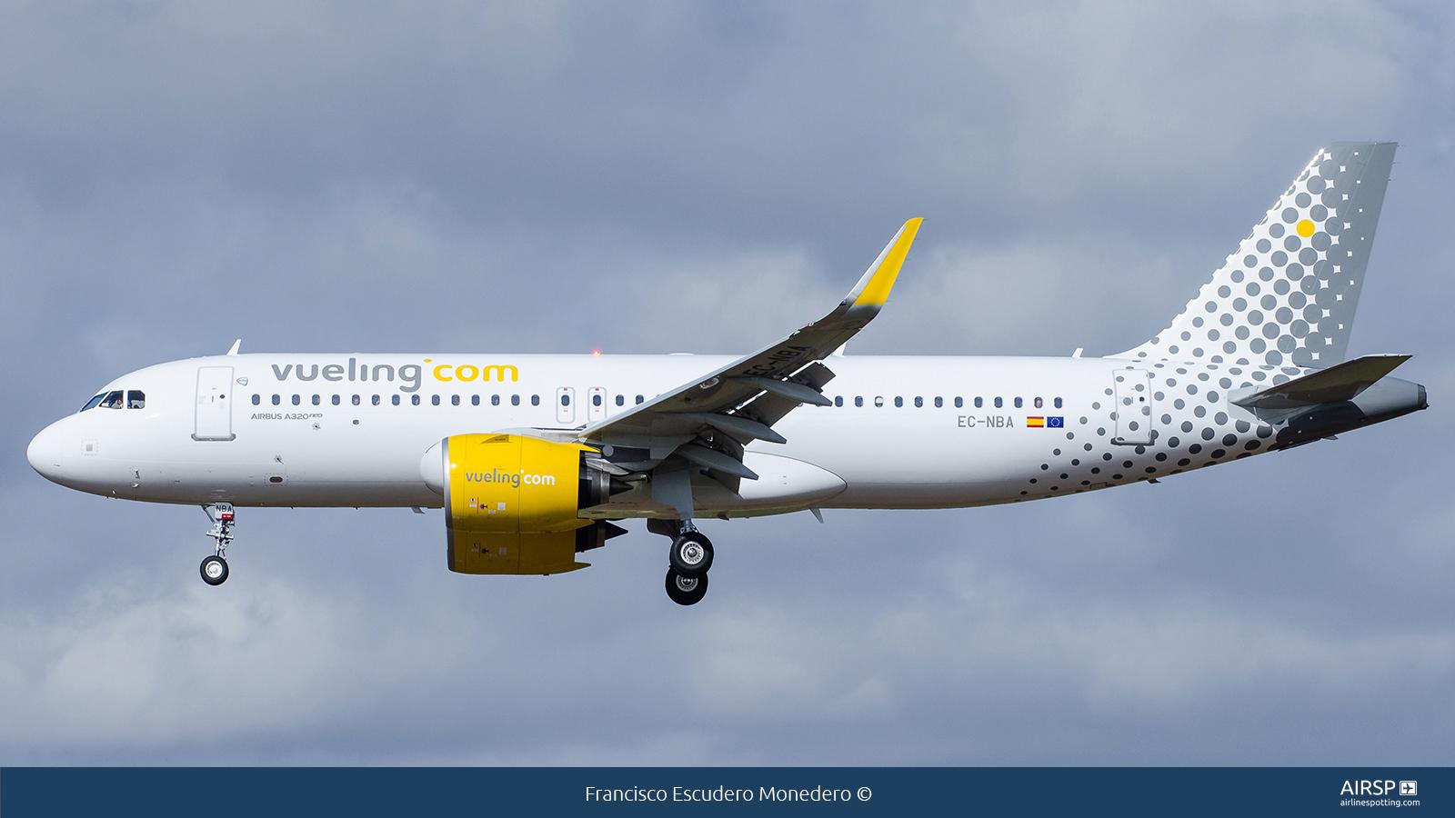 VuelingAirbus A320neoEC-NBA