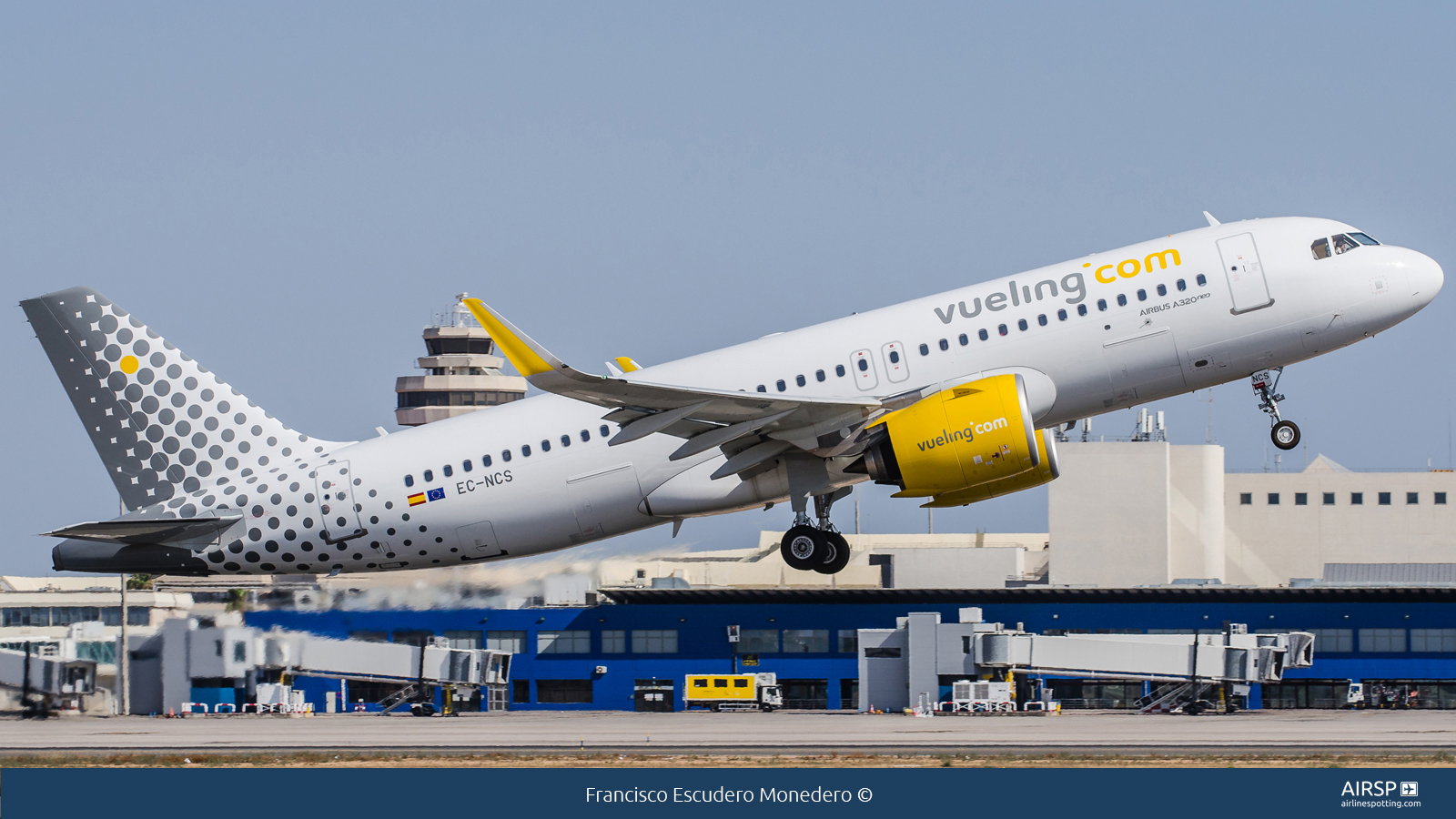 Vueling  Airbus A320neo  EC-NCS