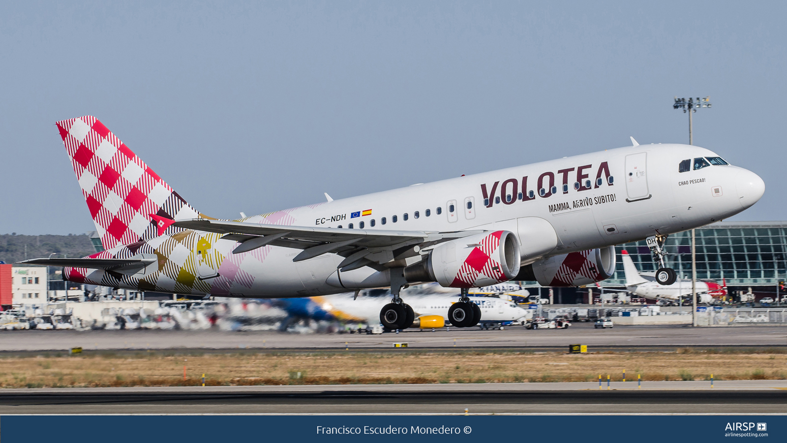 Volotea Airlines  Airbus A319  EC-NDH