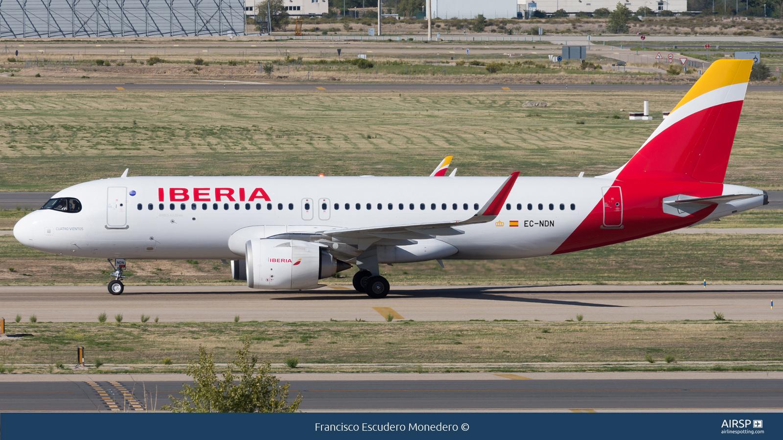 Iberia  Airbus A320neo  EC-NDN