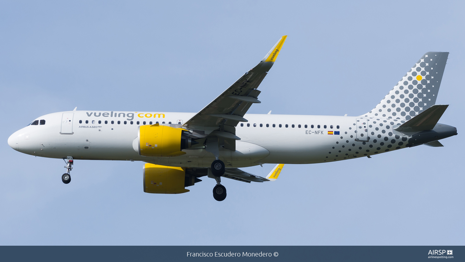 Vueling  Airbus A320neo  EC-NFK
