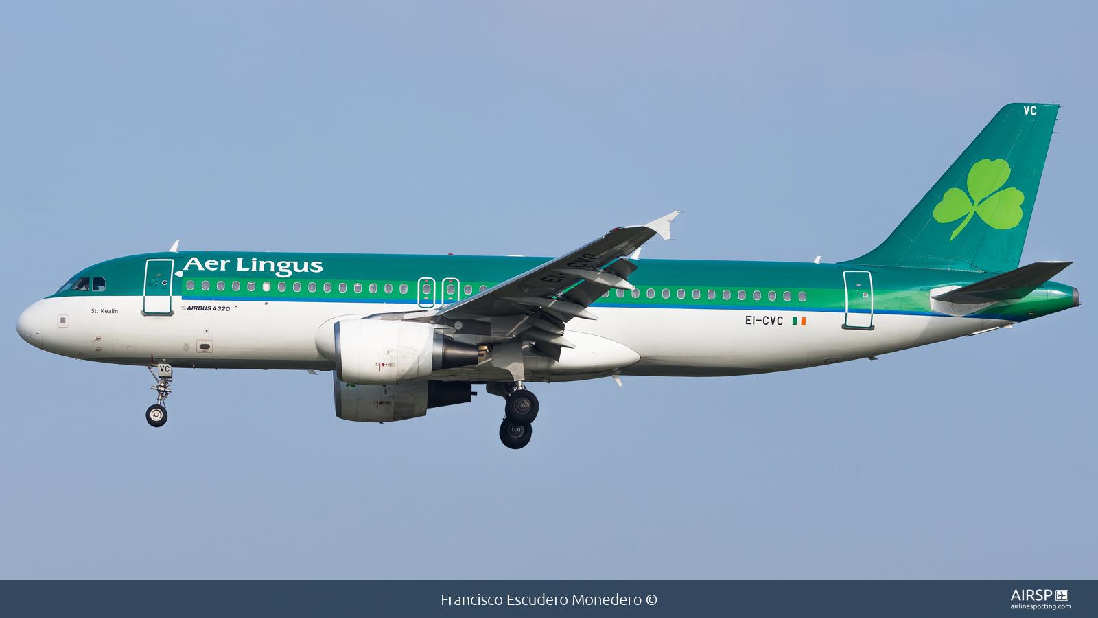 Aer Lingus  Airbus A320  EI-CVC