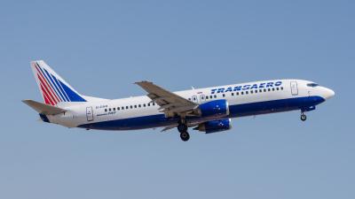 Transaero Airlines Boeing 737-400