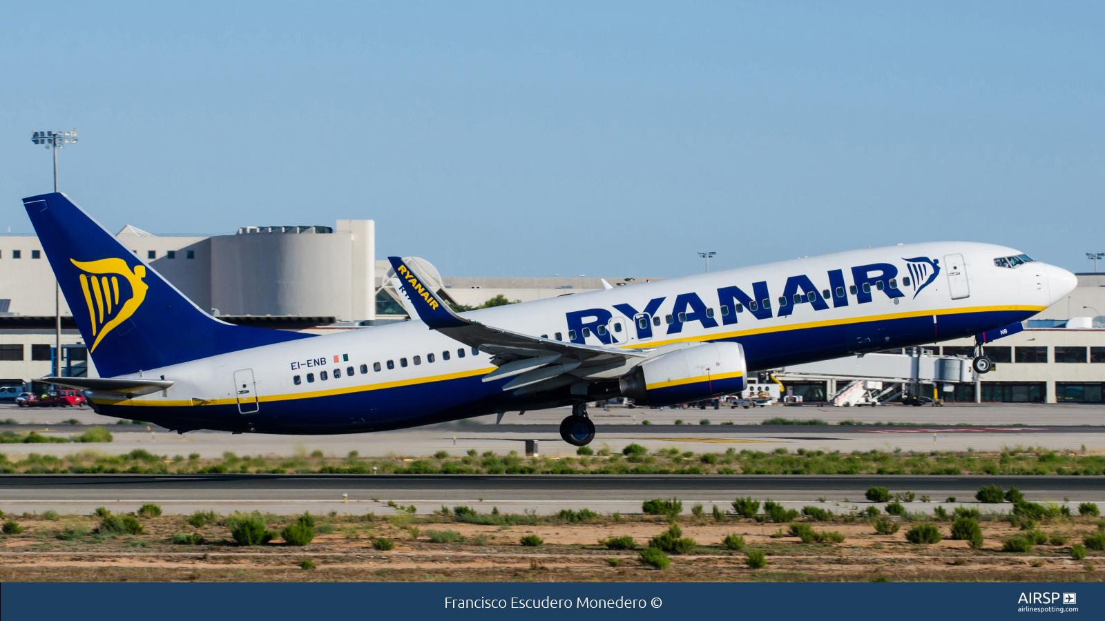 RyanairBoeing 737-800EI-ENB