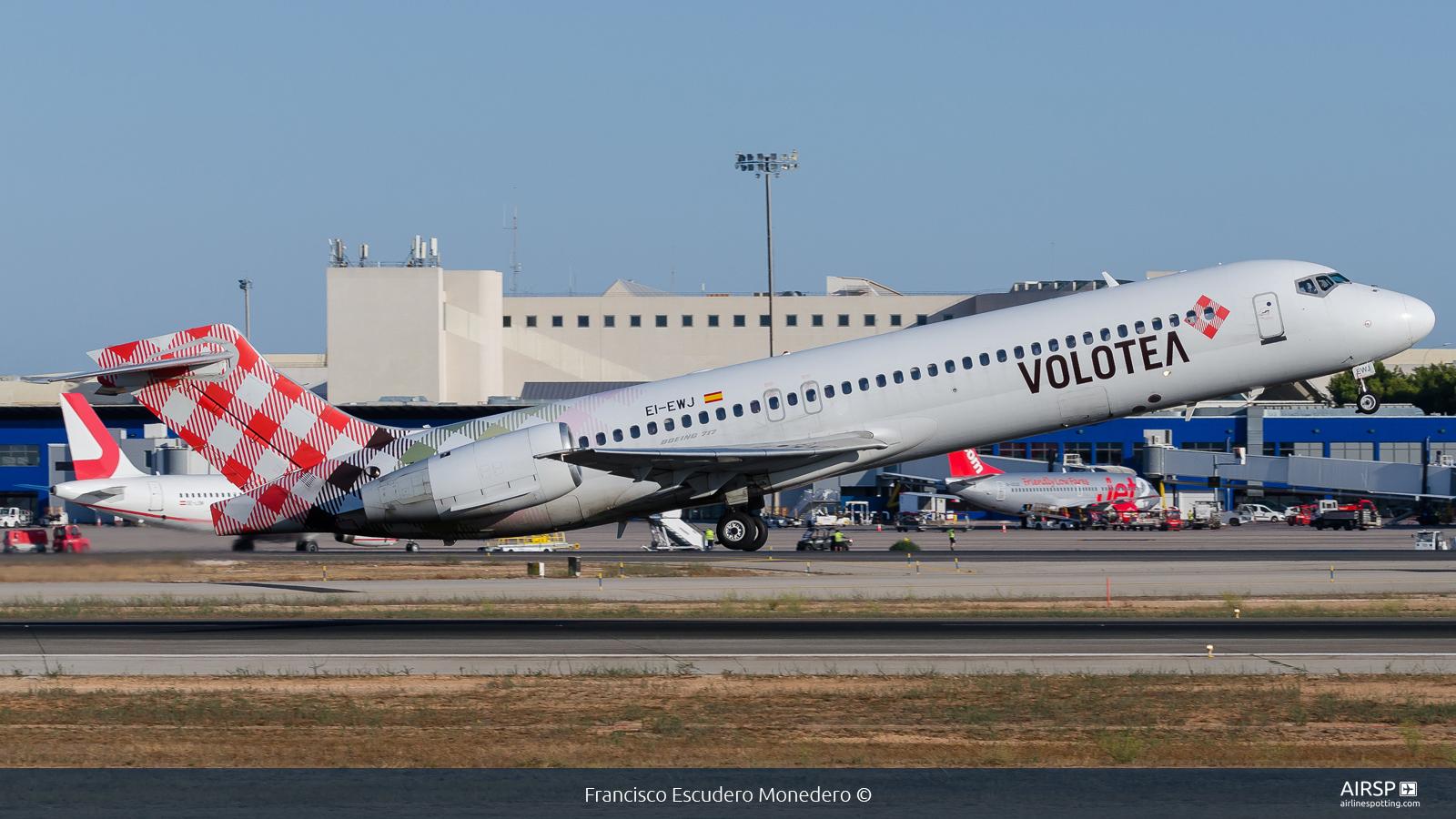 Volotea Airlines  Boeing 717  EI-EWJ