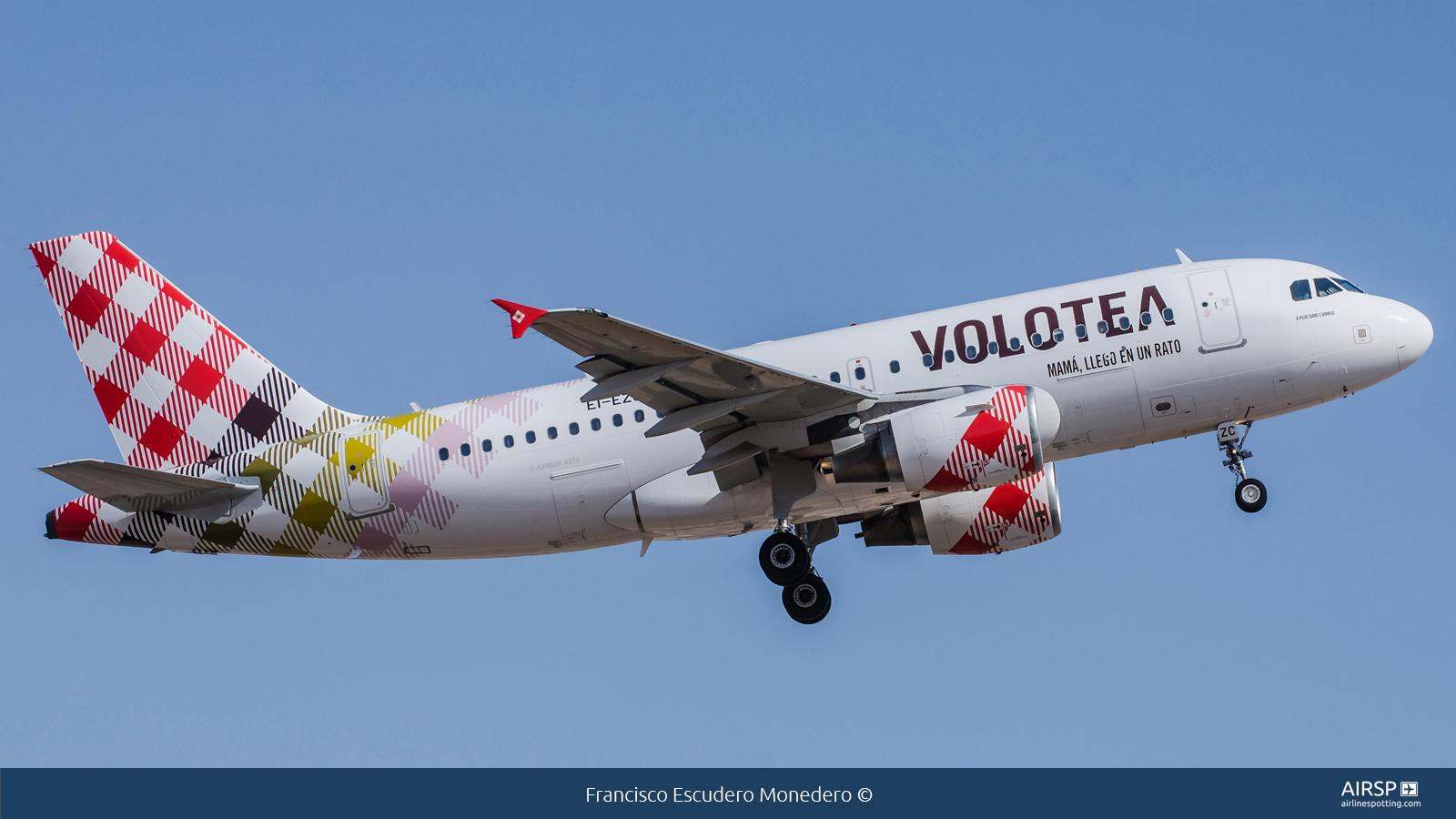 Volotea Airlines  Airbus A319  EI-EZC