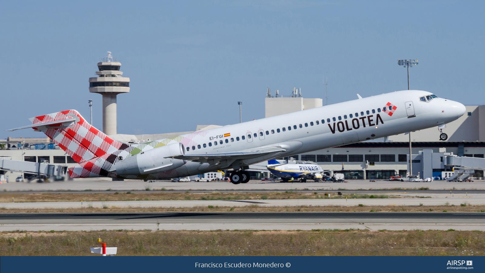 Volotea Airlines  Boeing 717  EI-FGI