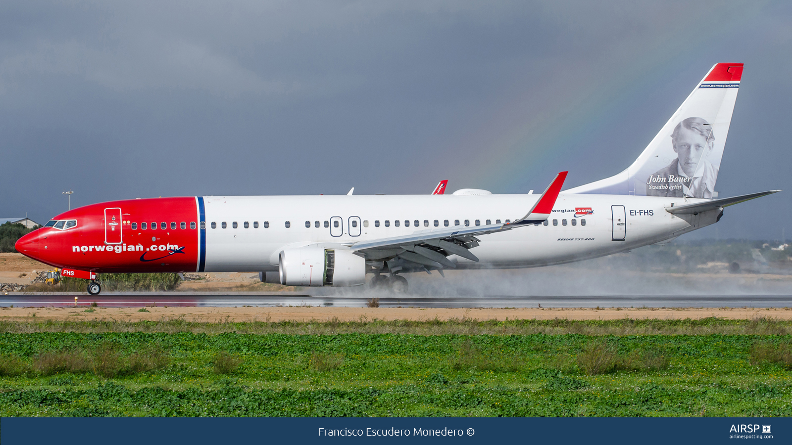Norwegian  Boeing 737-800  EI-FHS