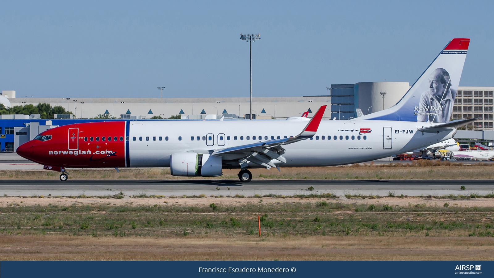 NorwegianBoeing 737-800EI-FJW